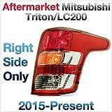 TUNEZ RHS feu arrière droit feu arrière feu arrière compatible avec Mitsubishi L200 Triton année 2016 2017 2018 2019 2020
