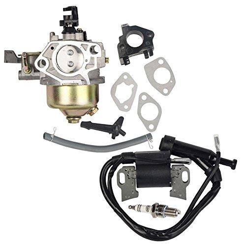 Ouyfilters confezione di carburatore bobina di accensione con candela per GX340 GX390 11HP 13HP motore rasaerba New