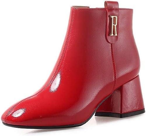 AdeeSu SXC03886, Sandales Compensées Femme - Rouge - rouge, 36.5 EU