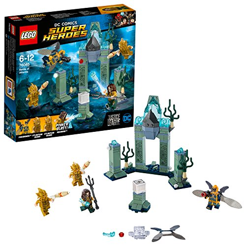 LEGO-Super Heroes La Bat di Atlantide, Multicolore, 76085
