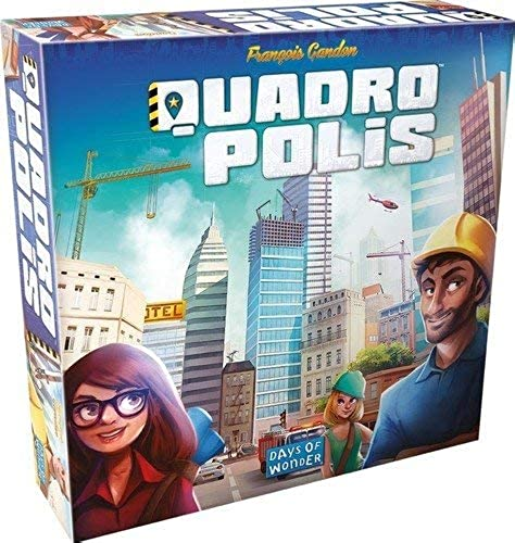 Asmodee Moonster Games QUA01FR Quadropolis