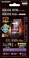 ELECOM AQUOS ZETA SH-01H AQUOS Xx2 液晶保護フィルム ガラスライク 衝撃吸収 スムースタッチ PM-SH01HFLHPAGS