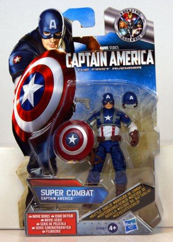 Captain America The First Avenger Action Figure - Final Mission