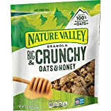 GRANOLA: Nature Valley crunchy granola is made with whole grain oats and sweet honey flavor REAL INGREDIENTS: Hearty 100% whole grain oats with no artificial flavors, artificial colors, artificial sweeteners, or corn syrup. WHOLE GRAIN: An excellent ...