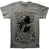 The Black Crowes Men's Remedy Slim Fit T-Shirt Grey M