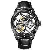 SHOUTAOB Relojes mecánicos para hombre s marca de lujo deporte hombres reloj de moda impermeable RZTZDM (color: A)