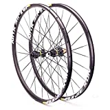 26/27.5/29 Pulgadas Mountain Bike Wheel Set Disc Freno MTB Ruedas Thru Eje Six Holes 21mm Altura 24 Agujeros (Color : 8-11 Speed, Size : 27.5inch)