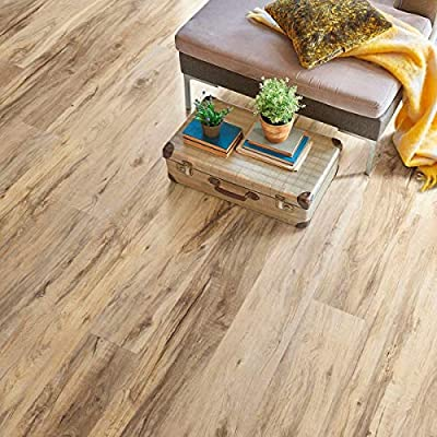 SUPERCore Xtreme SPC011X Tennessee River Hickory Rigid Vinyl Plank Flooring, Sample