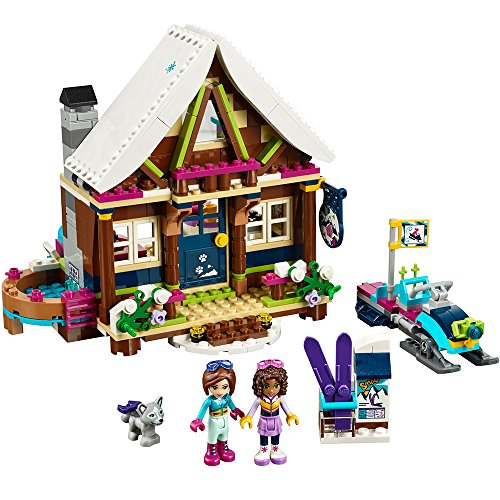 LEGO Friends Snow Resort Chalet 41323 Building Set