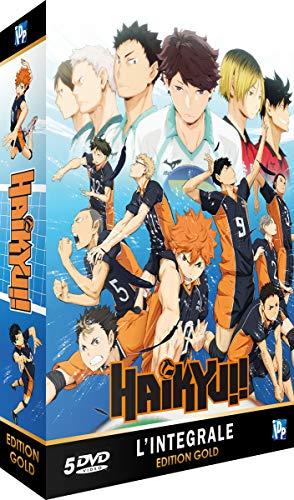 Haikyu-Intégrale Saison 1-Edition Gold (5 DVD + Livret)