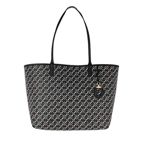 LAUREN RALPH LAUREN COLLINS 32 Shoppers femmes Zwart/Wit Tote tassen/Boodschappentassen
