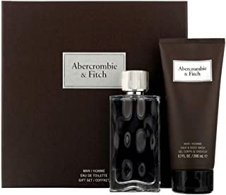 First Instinct by Abercrombie & Fitch Eau de Toilette Spray 100ml & Hair and Body Wash 200ml