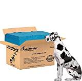 PETSWORLD Great Dane's Training Giant Pads, 36x36 inch, 100 Ct