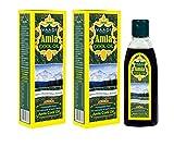 Amla Oil - Brahmi Oil - Blend of Brahmi and Amla Herbal Oil(Pack of 2 X 6.76 Ounces) - Vaadi Herbals