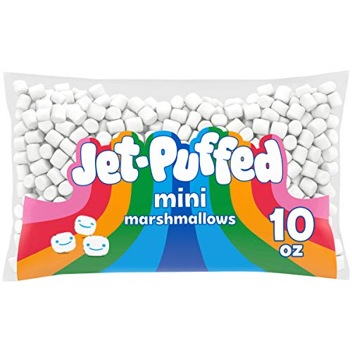 JetPuffed Mini Marshmallows 10 oz Bags Pack of 24