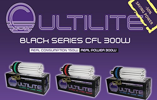 CULTILITE CFL BLACK SERIES 300W AGRO 2100K