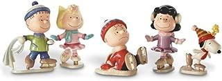 Lenox Peanuts 5-piece Ice Skating Figurine Set 850697 NEW