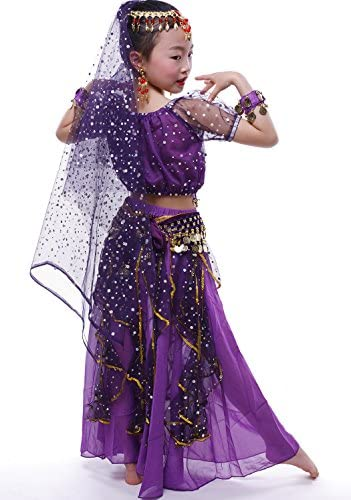 Child belly dance costume _image4