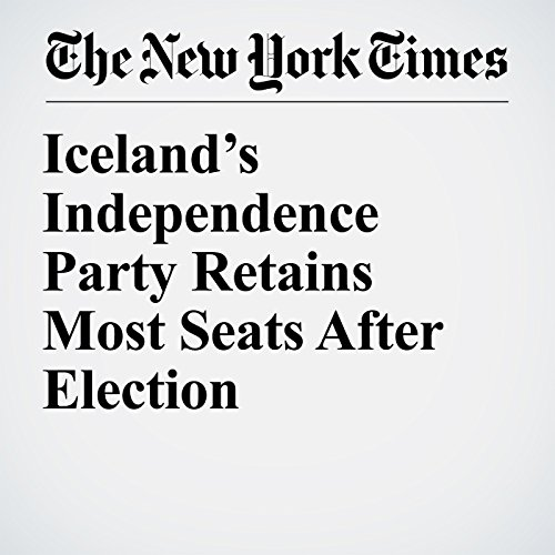 Iceland's Independence Party Retains Most Seats After Election copertina