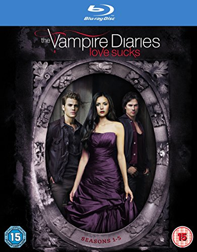 The Vampire Diaries - Season 1-5 [Blu-ray] [2009] [Region Free]