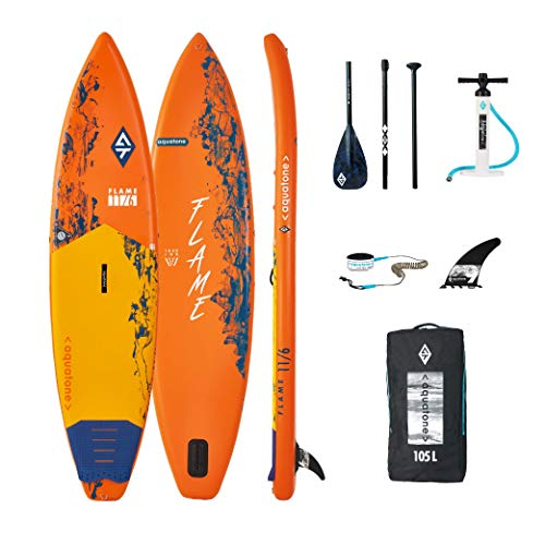 Aztron Aquatone Flame 11.6 Touring Isup Hinchable Tabla de Surf, Stand Up Paddle 350x81x15