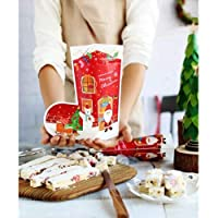 50ピースクリスマス靴下形状ビニール袋メリークリスマスプラスチックギフトバッグクッキービスケット包装キャンディーバッグクリスマス装飾