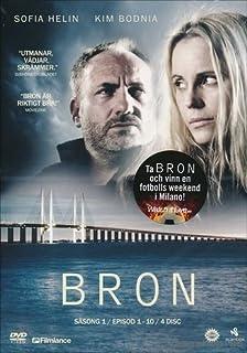 The Bridge - Season 1 (Ep. 1-10) (Bron (Broen)) [Region 2] by Kim Bodnia