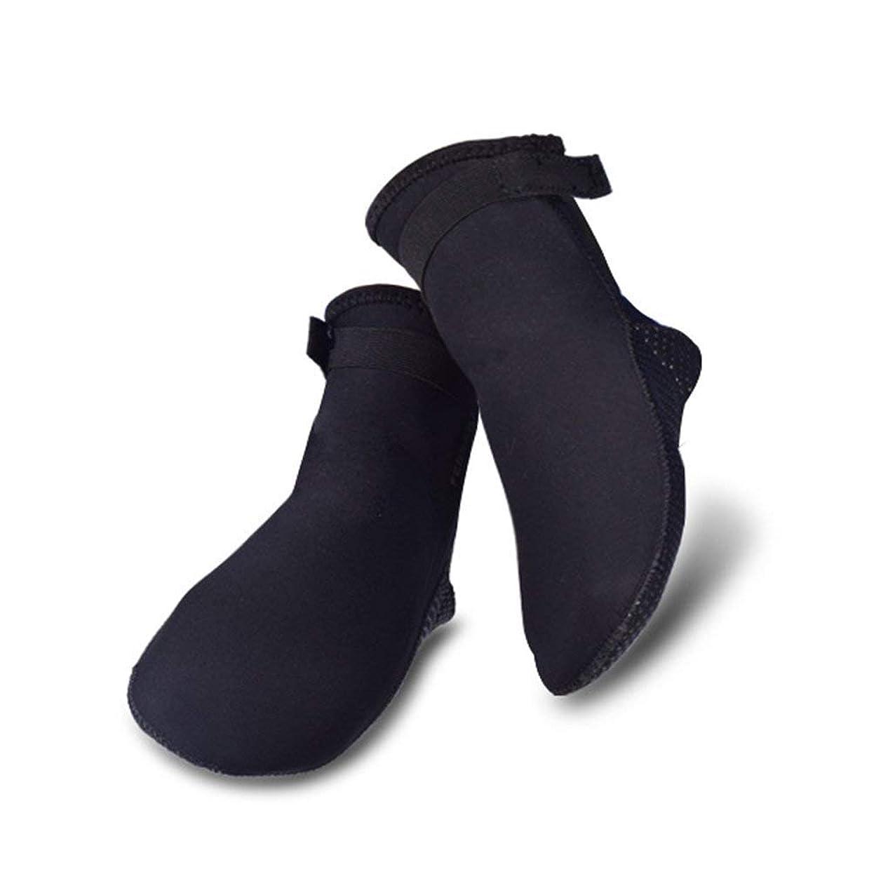 挨拶ハードウェアさせる[MORGEN SKY] マリンソックス ネオプレーン ソックス ダイビング 渓流 靴下 サーフィン 水陸両用 WZ04