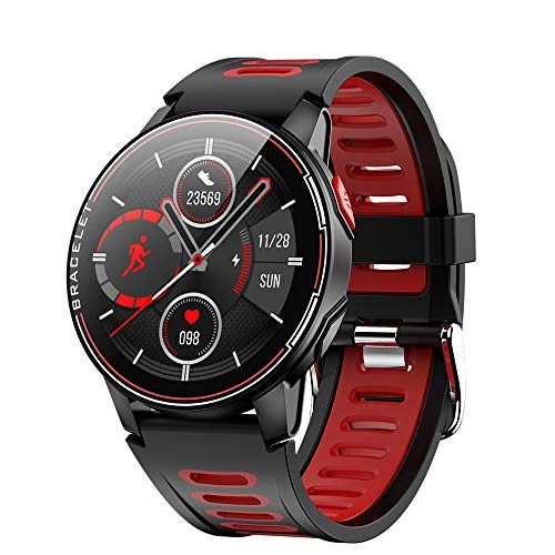 2020 New L6 Smart Watch IP68 Waterproof Sport Men Women Bluetooth Smartwatch Fitness Tracker Heart Rate Monitor for Android iOS Smartwatches