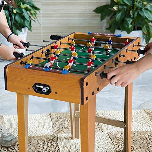 TTIK Tischfußball Klappkicker - Kompakter Mini-Tischfußball Mit Kindersicherung 4 in 1 multifunkniertes für Die Familie Tischfussball Kinder Und Erwachsene