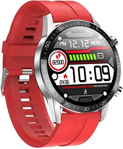 Smartwatch El último modelo de pantalla táctil completa T11 hombres s ritmo cardíaco presión arterial monitor IP68 impermeable tiempo Smartwatch VS DT78 L5 L8 L7-VS