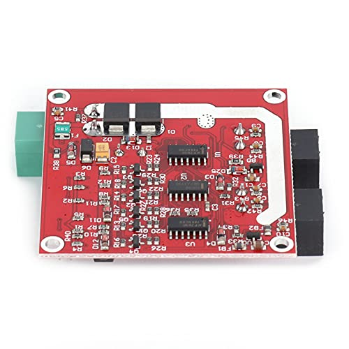 Módulo De Controlador De Motor De CC, Placa De Regulador De Motor PWM De Puente Doble En H, Protección Contra Subtensión, Control De Velocidad De CC De 6,5 V A 27 V Para Ingeniería Mecánica