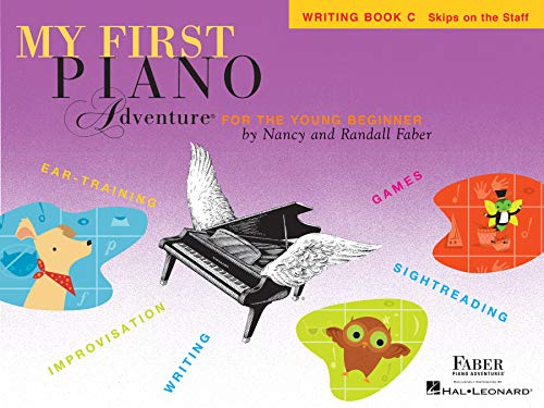 My First Piano Adventure: Writing Book C (Piano Adventure's) (English Edition)