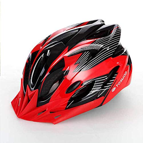 FAROOT Unisex Adult Bike Helmets, Adjustable Size Savant Road Bicycle Helmet Safety Riding Helmet Specialized Road Bike Helmet Accessories for Men Women Riding Road Cycling Mountain Biking (Red)