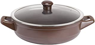 Caçarola de Cerâmica Duo Buffet, 28cm, 2,5 Litros, Chocolate, Ceraflame