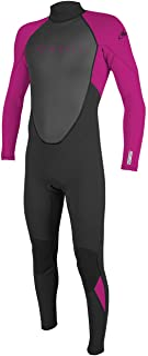 oneill wetsuits 女孩青少年 Reactor II 3/2毫米 Back 拉链全潜水服