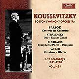 Koussevitzky Conducts Bartòk