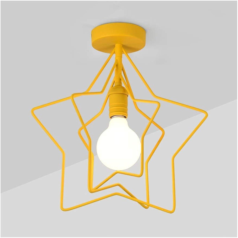& Deckenlampen Deckenleuchte , Deckenleuchten Simple Macaron Iron Art , E27 111V  240V , Wohnkultur Kinderzimmer Arbeitszimmer Flur Balkonbeleuchtung [Energieklasse A ++] Innenbeleuchtung