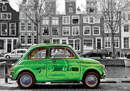 WOMGD® Amsterdamse auto houten legpuzzels, puzzel van 1000 stukjes, Brain Challenge puzzel voor kinderen-1000