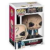 Lotoy Funko Pop Heroes : Suicide Squad - Diablo Figure Gift Vinyl 3.75inch for Villain Heros Movie F...