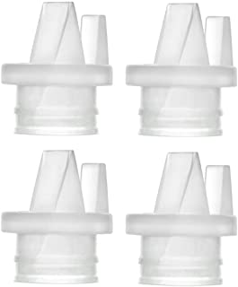 Maymom 2nd Generation Pump Valves for Spectra S1 S2 and 9 Pumps and Philips Avent Comfort Electric Breast Pump; (4 pc)