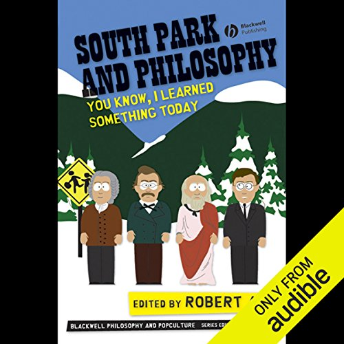 South Park and Philosophy audiobook cover art