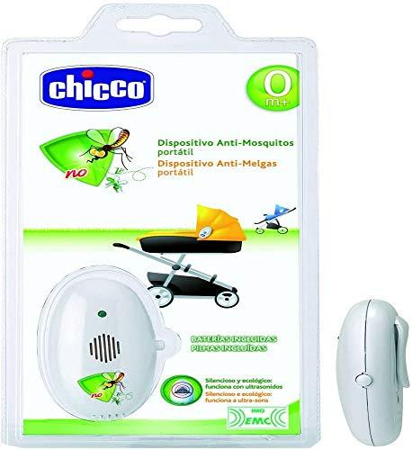 Chicco 00001881200040 - Dispositivo antimosquitos portátil, color blanco