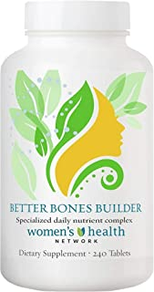 Better Bones Builder by Women's Health Network - Specially Formulated Multivitamin for Women with Greater Risk for Bone He...