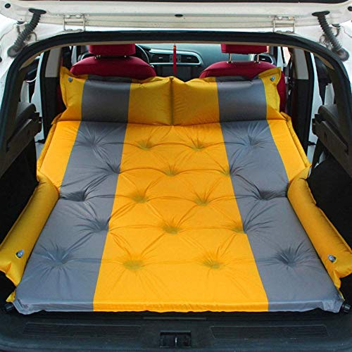 Colchón de aire multifuncional Coche de aire Colchón de aire Viaje Colchón inflable Cama de aire Cama de aire dedicada Cojín móvil de colchón autoinflante Extendido al aire libre para SUV Asiento tras
