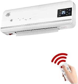 Xiaolin Calentador de Control Remoto montado en la Pared Baño en casa Máquina de Aire Caliente Radiador eléctrico Ahorro de energía Aire Caliente Velocidad Calor 2000W