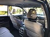 InviZguard Elite Vehicle Partition Car Sneeze Guard SUV Van Shield - Professional Ultra See Through Partition