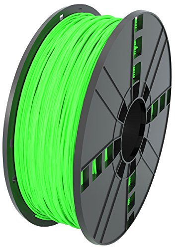 MG Chemicals Glow in the Dark - Filamento para impresora 3D PLA verde, 1,75 mm, bobina de 1 kg