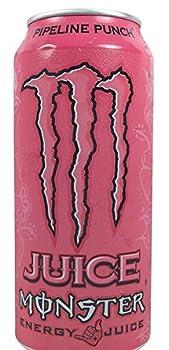 12 Pack - Monster Energy - Pipeline Punch - 16oz.