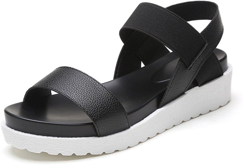 PRETTYHOMEL Female Sandals shoes Wedge Platform Leather Ladies Sandals High Heels Weave Sandals for Women